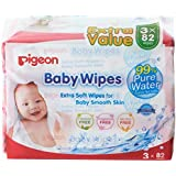Pigeon Baby Water Wipes 3in1 3 x 82's