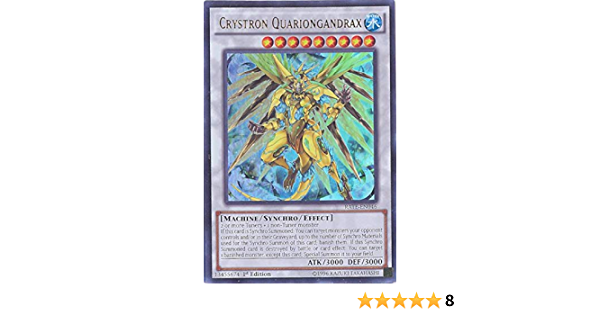 Yugioh Crystron Quariongandrax RATE-EN046 Ultra Rare