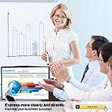 Business Portable Projector Screen Mileagea 20