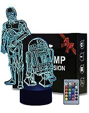 3D Illusion Lamp Bureaulamp Projectie Nachtlampje Lampen voor Chrismas Verjaardagscadeaus met Smart Touch…