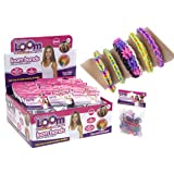 600 GLITTER COLOUR LOOM BANDS LOOM CRAZY WITH S CLIPS AND HOOK