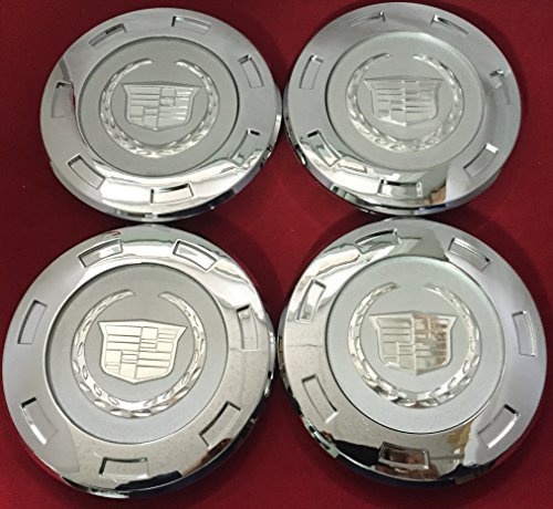 CC25 9596649 07-12 Cadillac Escalade Set 4PCS Chrome Crest 22