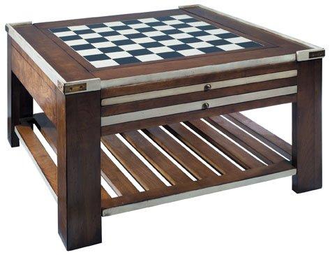 Authentic Models Spieltisch, Elfenbein, Möbel in Military und Navy Stil