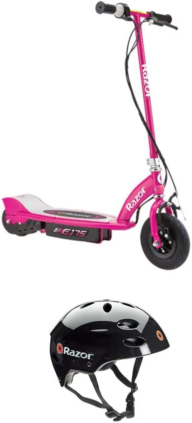 Razor E175 Motorized 24 Volt Rechargeable Electric Powered Kids Scooter Pink