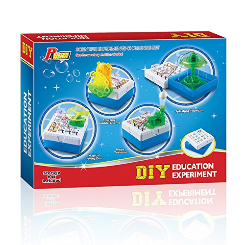 Physics Science Kits Toy for Kids DIY Electronic Discovery Kit by MianHong