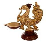 Kapasi Handicrafts Emporium Since 1973 Peacock Pooja Diya Statue