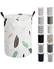 """Haundry Thickened Large Laundry Hamper with Durable Handle,21.6"""" Tall Collapsible Round Laundry Basket Bin for Clothes Storage"""