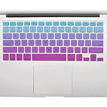 """All-inside Blue and Pink Ombre Keyboard Skin for MacBook Pro 13"""" 15"""" 17"""" (with or without Retina Display) / MacBoook Air 13"""""""