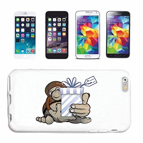 """cas de téléphone iPhone 7S """"CHIMPANZEE FUNNY GETS ON ANNIVERSAIRE SILVER PRESENT RETOUR GORILLA CHIMP MONKEY APE GORILLA orang-outan SILVER BACK GIBBON"""" Hard Case Cover Téléphone Covers Smart Cover po"""