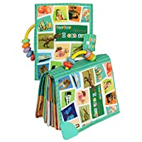 TEYTOY Baby Toy Soft Infant Activity Baby Toys, My First Word Book to Knowing...