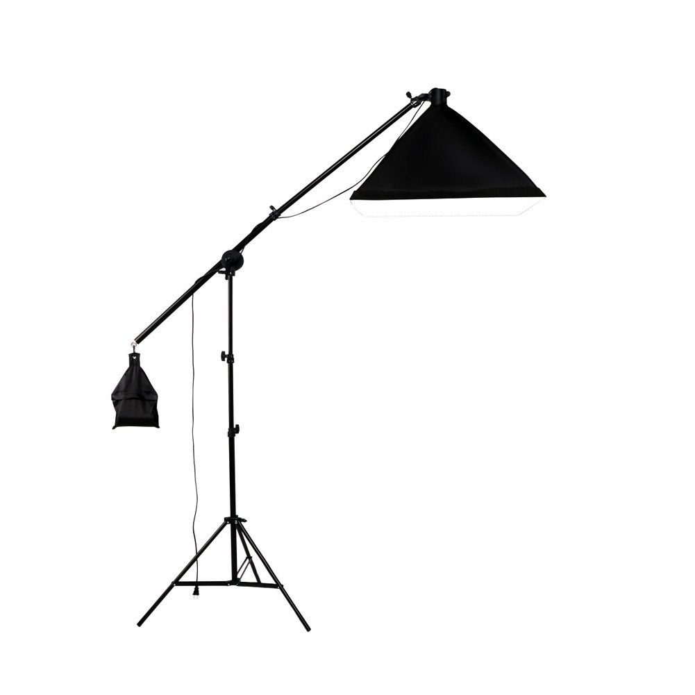 Lightdow 200W Photographic Equipment Adjustable Overhead Lighting Boom Arm Softbox Kit(Model Number: LD-TZ008)