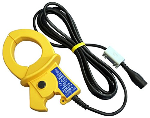 Hioki 9661 Clamp-On Sensor for Power Quality Analyzer, 500A AC  Current