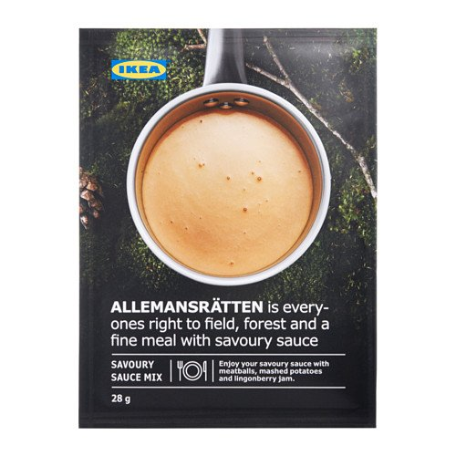 Swedish Meatball Mix - IKEA ALLEMANSRATTEN Mix for Swedish Meatball Cream Sauce