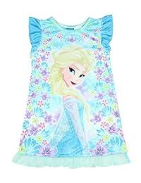 Disney Frozen Girls' Ruffle Sleeve Sleep Gown