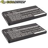 2x Exell Li-ion 3.7V Battery Fits SONY SGPT211AU/S SGPT211CN SGPT211CN/S SGPT211HK/S SGPT211JP/S SGPT211US/S SGPT212 SGPT212DE SGPT212FR SGPT212GB SGPT213JP SGPT213JP/H Tablet P1 Replaces SGPBP01