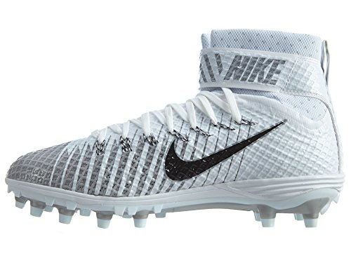 5 Black Football Lunarbeast White Elite Metallic Men's Silver NIKE Cleat 10 7OqYYx