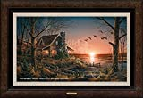 Comforts of Home Framed Legacy Canvas by Terry Redlin