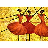 Ballet Jigsaw Puzzles, 300/500/1000/1500/2000/3000 Pieces for Adults Kids, Large Puzzle Game Toys Gift (Size : 1500pieces)