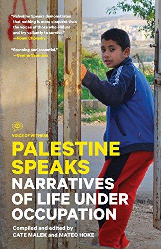 Palestine Speaks: Narratives of Life Under Occupation (Voice of Witness) (Strip Map Gaza Israel)