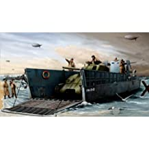 Trumpeter 1:35 - WWIIUS Navy LCM (3) Landing Craft by Trumpeter