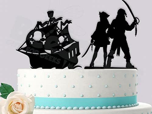 pirate ship wedding cake topper pirate with ship wedding anniversary 18617