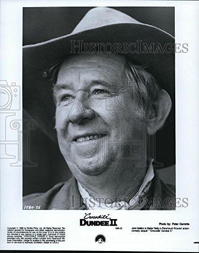 Vintage Photos Historic Images 1988 Press Photo John Mellon in Crocodile Dundee II - cvp68461-10 x 8