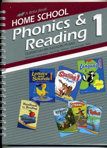 Phonics & Reading 1 Curriculum/Lesson Plans #96946 (A Beka Home School)