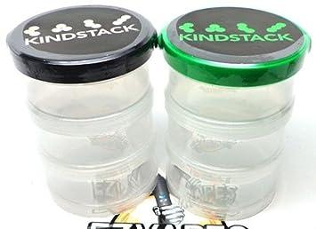 Amazoncom Kindstack Treehouse Green Premium Herb Storage