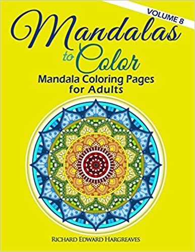 Amazoncom Mandalas To Color Mandala Coloring Pages For Adults