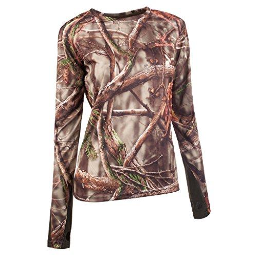 Huntworth Women's Long Sleeve Shirt, Oak Tree EVO ,Large