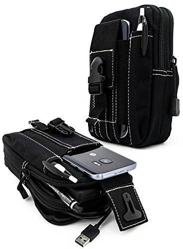 GALAXY S5, GALAXY S6, S6 EDGE, S7, S8 EpicDealz Universal Multipurpose Tactical Cover Smartphone Tan Camo Holster EDC Security Pack Carry Case Pouch Belt Waist Bag Gadget Money Pocket