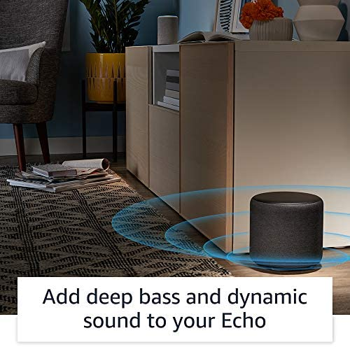 Echo Sub - Powerful subwoofer to your Echo - calls for suitable Echo instrument