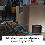 Echo Sub Bundle with 2 Echo (2nd Gen) Devices