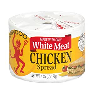 Underwood Chicken Spread, 4.25-Ounce Cans (Pack of 24)