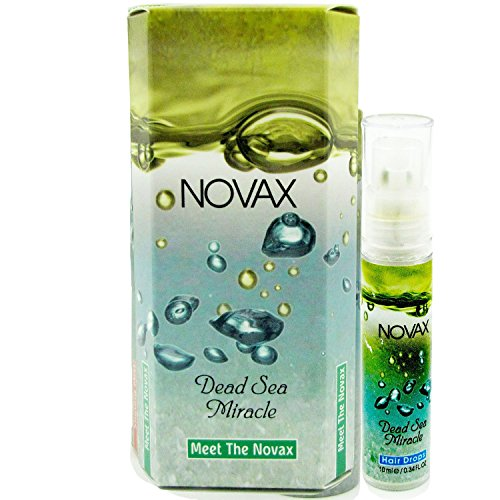 Hair Drops and Hair Treatment Mask by Novax - Introduction Kit - Sample Size Hair Care Kit contains Two Of Our Best-Selling Products - Hair Serum and Hair Treatment Mask Suitable ()