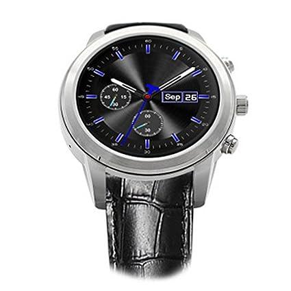 DQMSB Reloj Elegante MF5 Android Bluetooth WiFi 5.1 Llamada de la Tarjeta de teléfono móvil de