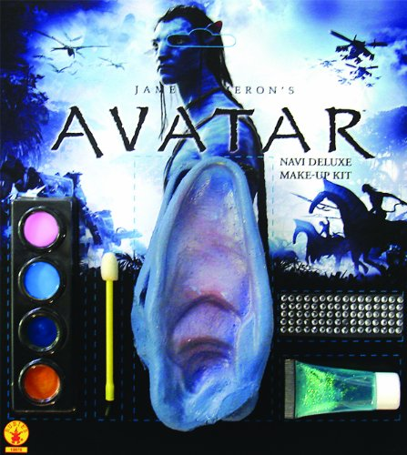 [Avatar Deluxe Na' Vi Makeup Kit] (Avatar Costume Accessories)