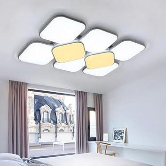 VINGO® 132W LED Deckenleuchte Deckenlampe Korridor Schlafzimmer Badleuchte  Wohnzimmer Modern Wand Deckenleuchte Energiespar Esszimmer