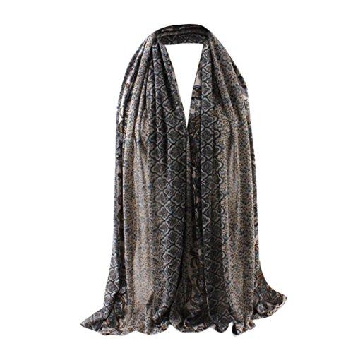 Women Muslim Thick Chiffon Long Dress - 4