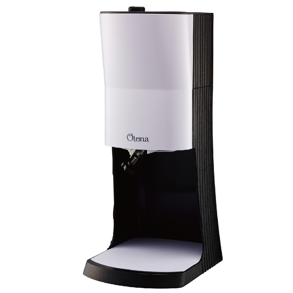 DOSHISHA Electric Shaved Ice Machine ふわふわとろ雪 (FUWAFUWA TOROYUKI) DTY-18BK (WHITE & BLACK)【Japan Domestic genuine products】 【Ships from JAPAN】
