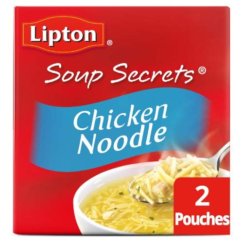Lipton, Soup Secrets, Soup Mix With Diced White Chicken Meat (Pack of 12)