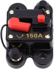 Circuit Breaker with Manual Reset,Inline Fuse Inverter for Car Marine Boat Bike Stereo Audio