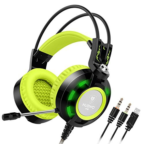 Nubwo K6 Gaming Headset with Microphone