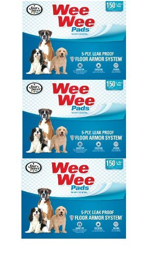 Four Paws Wee-Wee Pet Training and Puppy Pads (450 ct)