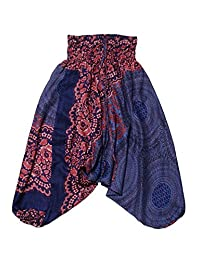 Lofbaz Kids Harem Thai Aladdin Pirate Children Pants Bohemian Baggy Hippy Child