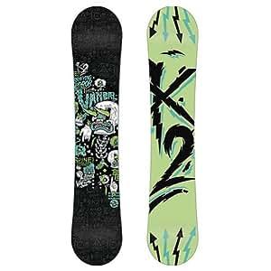K2 Snowboarding Boys' Vandal Snowboard - Multi - 142 142 cm