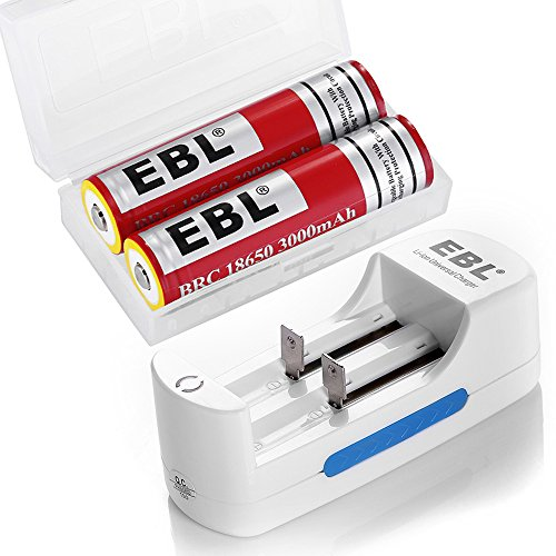 EBL 18650 Protected Rechargeab