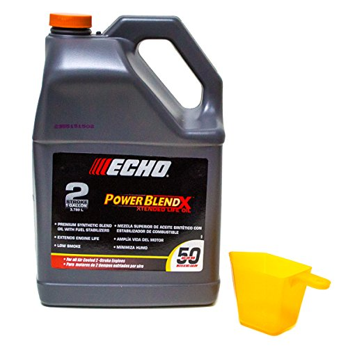 Echo One Gallon Bottles 2 Cycle Engine Oil Mix Extended Life Power Blend ()