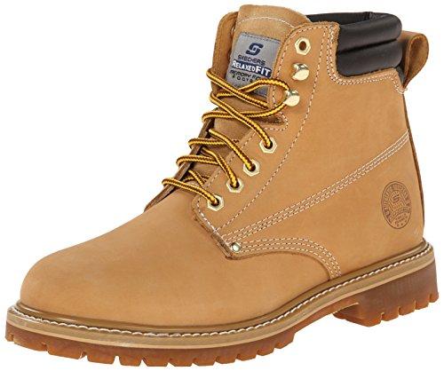 Foreman Work Wheat Arel Boot Skechers 5qSfnTCC