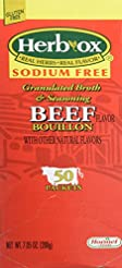 Hormel Herb Ox Beef Bouillon Sodium Free...